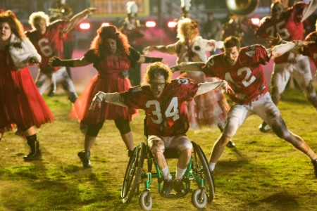 Glee rocks after the Super Bowl with a tribute to Thriller