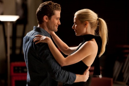 Matthew Morrison and Gwyneth Paltrow in Glee