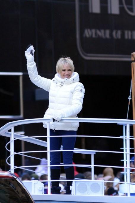 Macy's Thanksgiving Day Parade: Kristin Chenoweth
