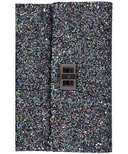Anya Hindmarch blue glitter clutch