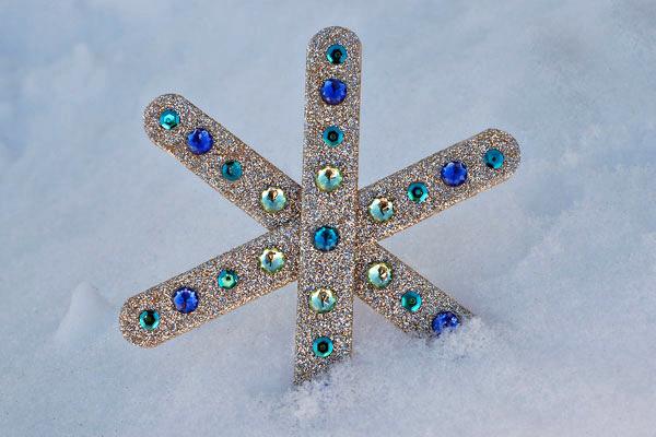 Snowflakes Craft Ideas Super Easy Paper Snowflake Craft