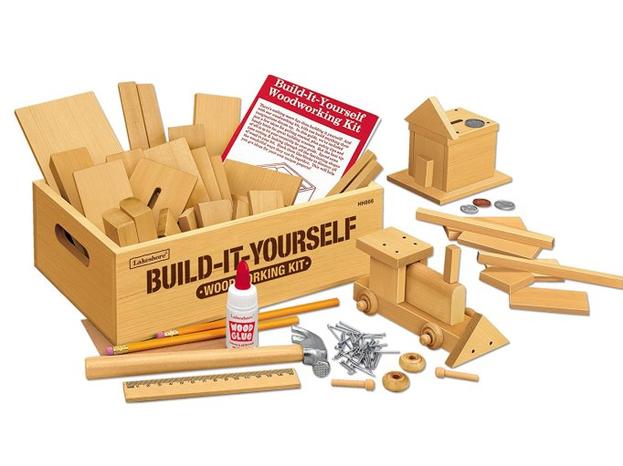 Build It Yourself Woodworking Kit
