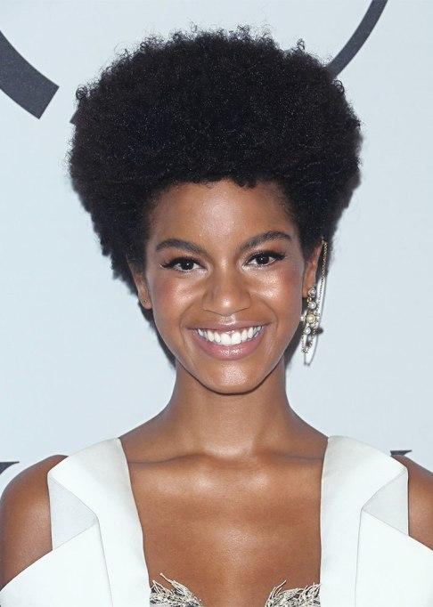 Ebonee Davis Afro