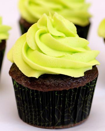 Glow in the dark cupcakes