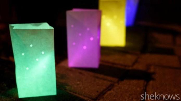 Glow-in-the-dark Halloween DIYs