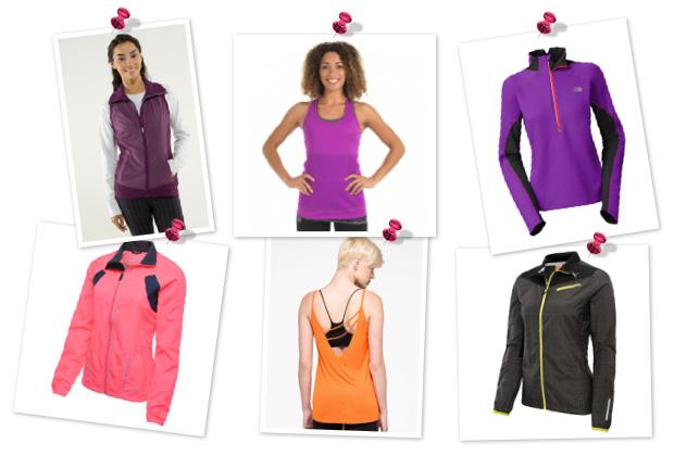 Glow-in-the-dark fitness gear