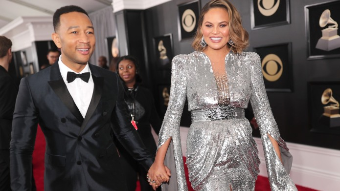 Chrissy Teigen Ended Grammys Night With