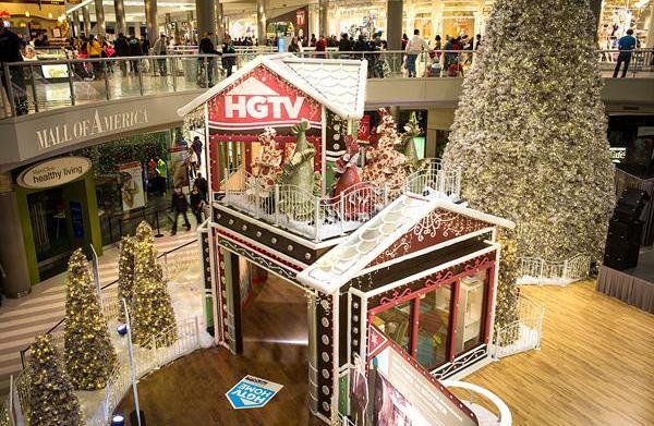 HGTV Holiday House at the Mall