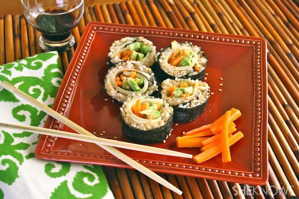 Sandwich-style Sushi