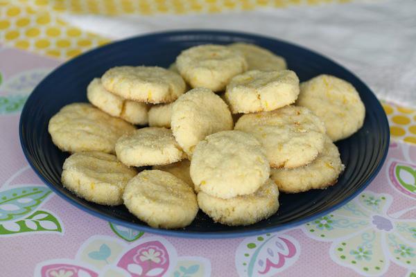 Citrus-sugar cookie