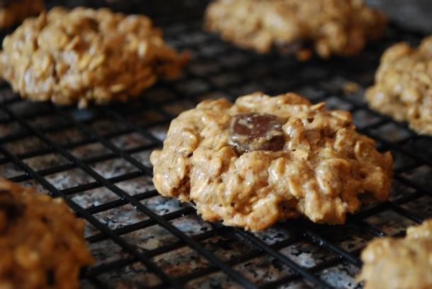 cinnamon peanut butter chocolate chunk cookies