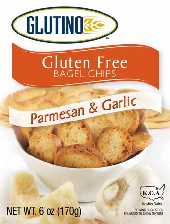 Parmesan & Garlic Gluten-free Bagel Chips