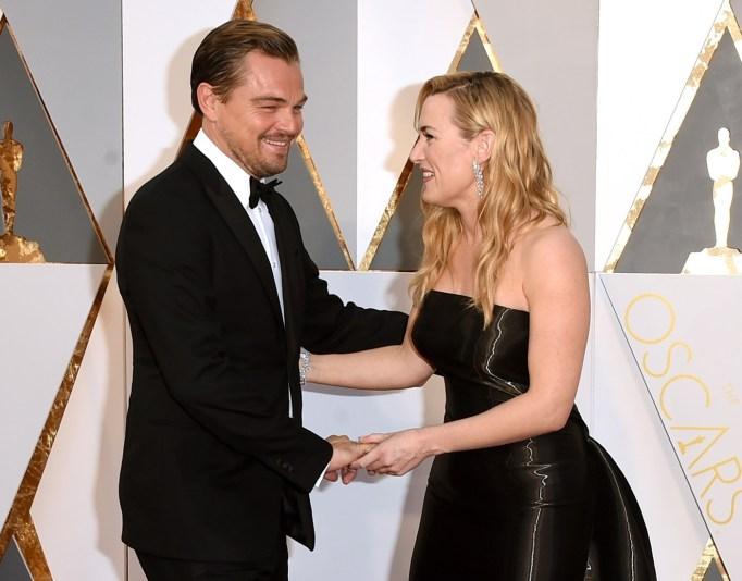 Leonardo DiCaprio & Kate Winslet Oscars 2016
