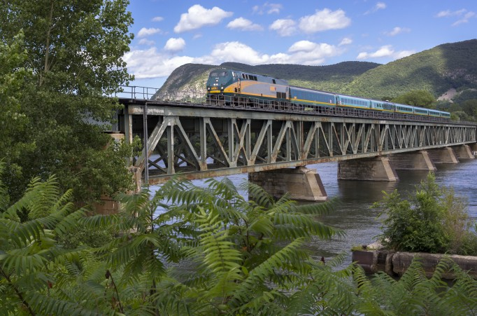 Montreal & Quebec City by Rail