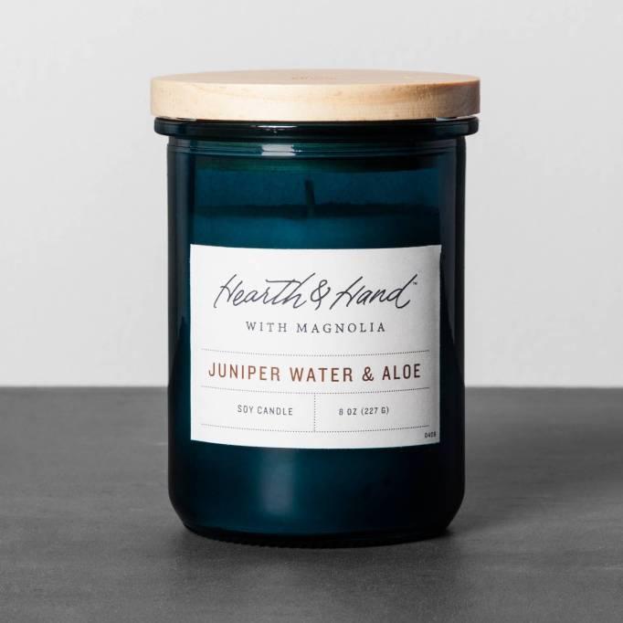 Juniper water Aloe Candle Magnolia