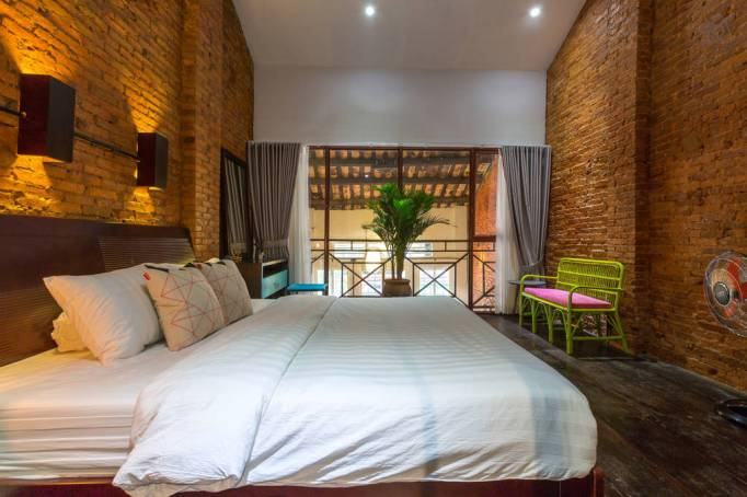 Last-Minute Valentine's Day Getaway on AirBnb: Townhouse in Ho Chi Minh, Vietnam