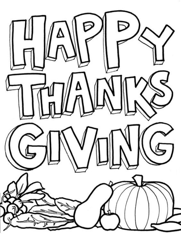 20 Thanksgiving Coloring Pages To Keep Kids Busy Sheknows