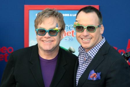 Elton John is relaxed yet captivated