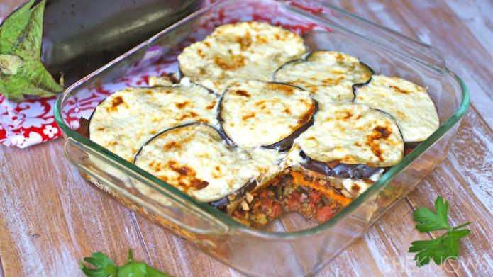GF Friday: Gluten-free moussaka loaded with