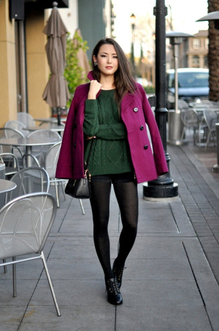 Bloggers Show You How to Wear Shorts for Fall : Hapa Time