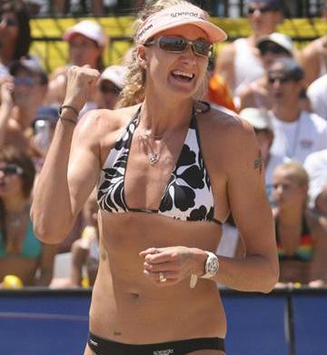 Olympics star Kerri Walsh talks healthy