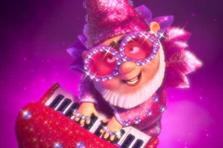 Elton John lends his hits to Gnomeo and Juliet