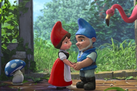 Gnomeo and Juliet stars Emily Blunt and James McAvoy