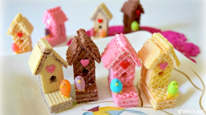 How to make the sweetest birdhouses