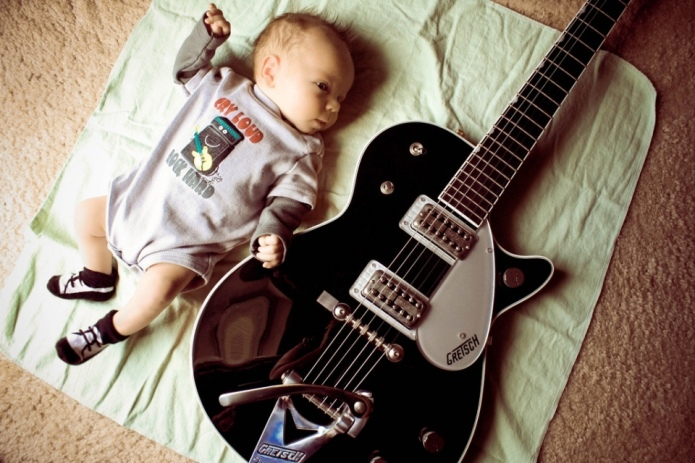 Heavy-metal baby names for your little