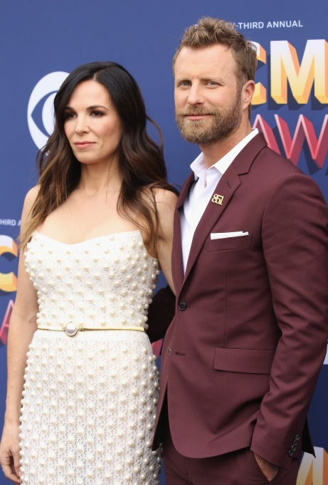 Dierks Bentley & Cassidy Black at the 2018 ACMs
