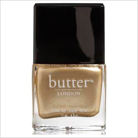 butter London's The Full Monty- Molten Metallic Gold
