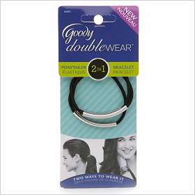 Goody Double Wear Elastic Braclet in Silver or Gold