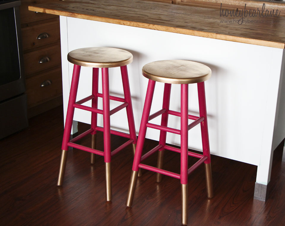 Dipped furniture legs