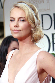 Charlize Theron - 69 Annual Golden Globe Awards
