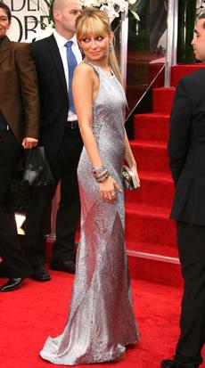Nicole Richie -- 69th Annual Golden Globe Awards