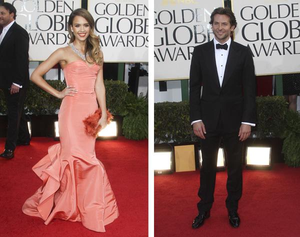 Jessica Alba and Bradley Cooper