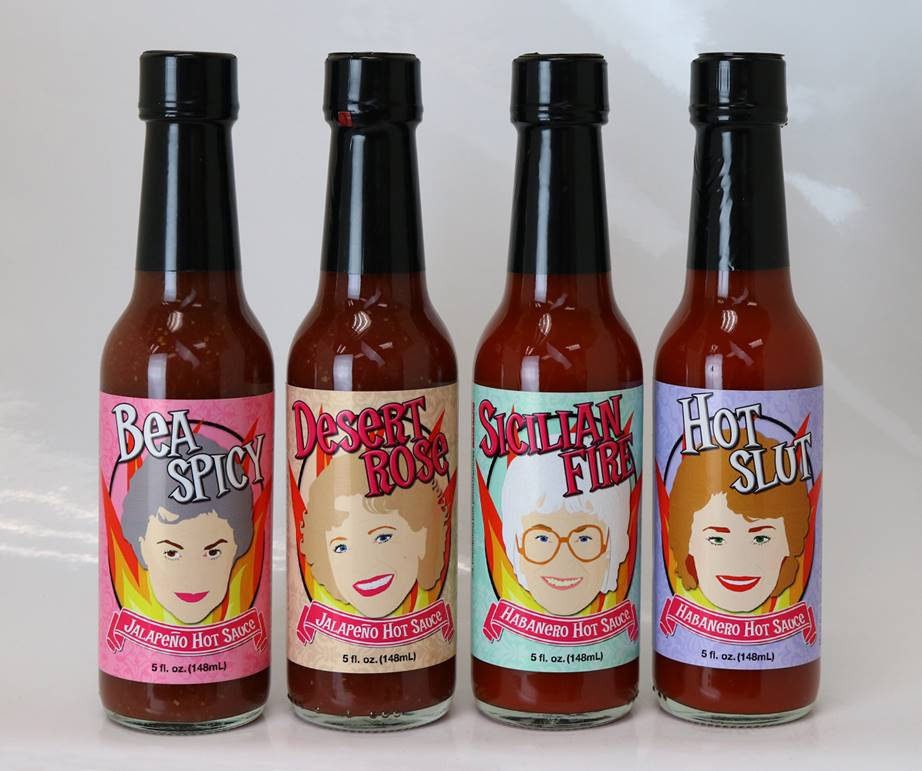 Golden Girls hot sauce