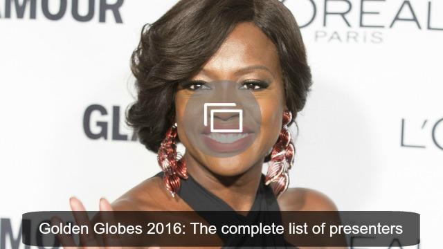 golden globes 2016 presenters slideshow