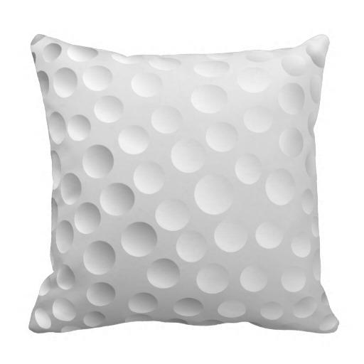 golf-ball-pillow