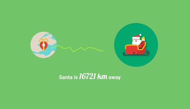 Track Santa online