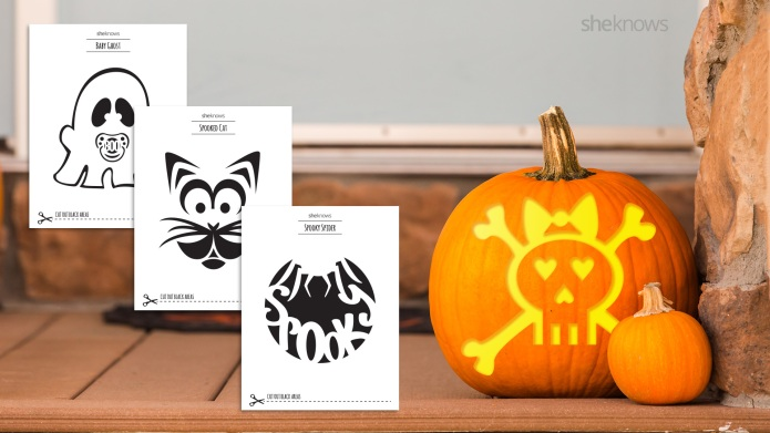 These Pumpkin-Carving Templates Pretty Much Guarantee