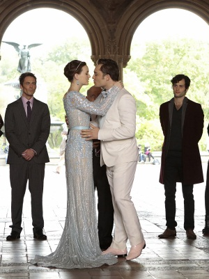 Chuck and Blair's wedding
