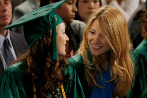 It's gone by so fast! Gossip Girl graduates
