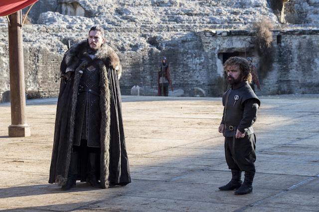 GoT S7 Finale Jon Snow Tyrion