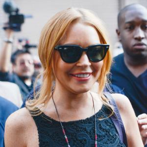 Were Lindsay Lohan's parents banned from