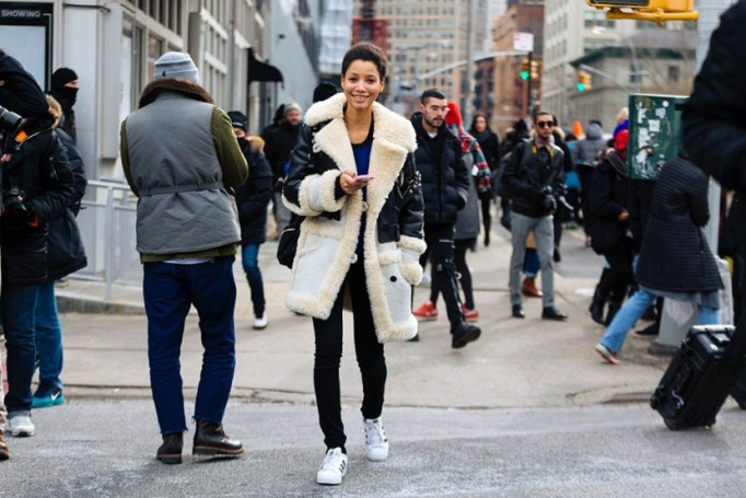 Perfect to Wear Shearling This Season | Street Shearling