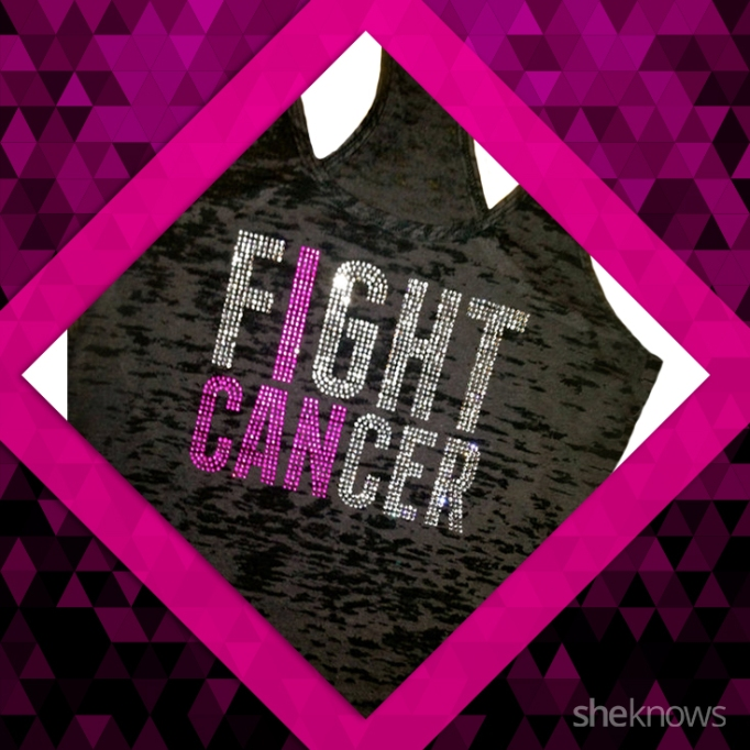 I can fight cancer, breast cancer shirt