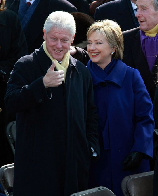 clintons-through-the-years-2009