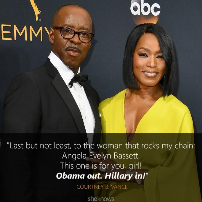 Courtney B. Vance Emmys speech