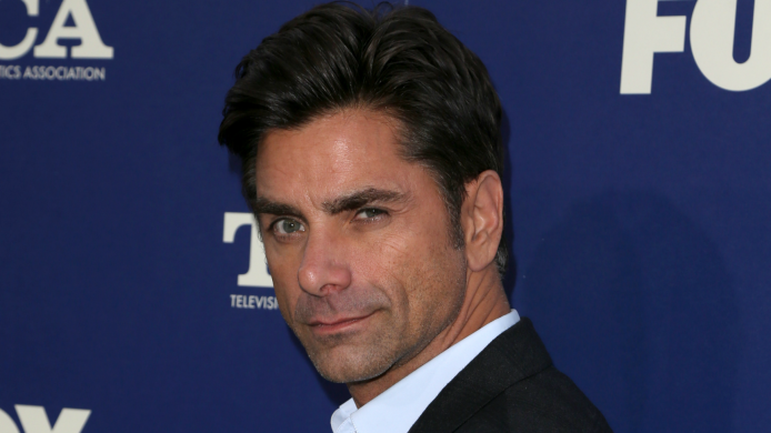John Stamos loved every second of
